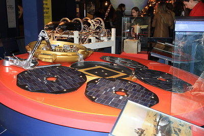 Beagle 2 Mars lander replica - sadly the original was lost as it crash landed on the Martian surface and never made contact - 09/01/16.