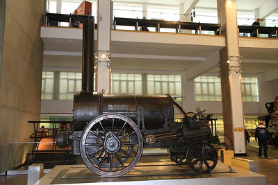 'Stephenson's Rocket', built 1829 for the Rainhill Trials, but subsequently much modified - 09/01/16.