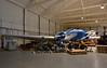 Boeing 247D N18E, Science Museum store, Wroughton, Wiltshire, 9 September 2015 1.  Behind is DC-3 EI-AYO.