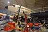 Douglas DC-3 EI-AYO, Science Museum store, Wroughton, Wiltshire, 9 September 2015 2.  In front is Lovegrove AV-8 gyroplane G-BXXR.