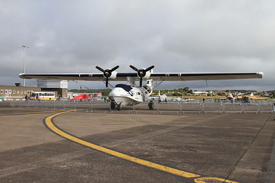 Consolidated PBY-5A Catalina 433915 (G-PBYA) on static display - 06/09/15.