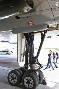 Avro Vulcan B2, XH558 / G-VLCN - Nosewheel - 06/09/15.