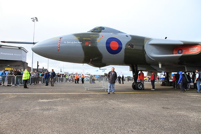 me posing with XH558 - 06/09/15.