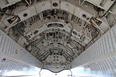 Avro Vulcan B2, XH558 / G-VLCN - Bomb bay - 06/09/15.
