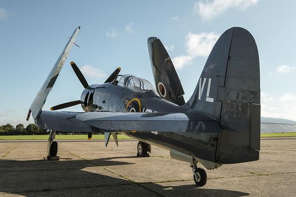 Sea Fury T.20 G-RNHF (VX281)