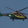 LASD AS-332L working the pattern at Los Alamitos AAF - 4 Oct 2012