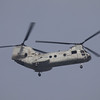Marine CH-46 working the pattern at Los Alamitos AAF - 6 Oct 2012