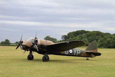 Bristol Blenheim Mk1, L6739 / G-BPIV - 05/07/15.
