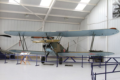 Polikarpov Po-2 (1944 built Russian Biplane - 1 of 40000 built !), G-BSSY, on display inside one of the hangers at Old Warden - 05/07/15.