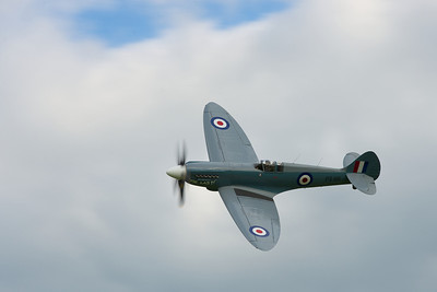 The roar of the Spitfire