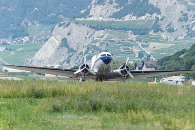 portes ouvertes aeroport de Sion, le 12 juin 2011.