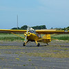 Auster 5J1 Autocrat G-AHAU moving into position for the tow