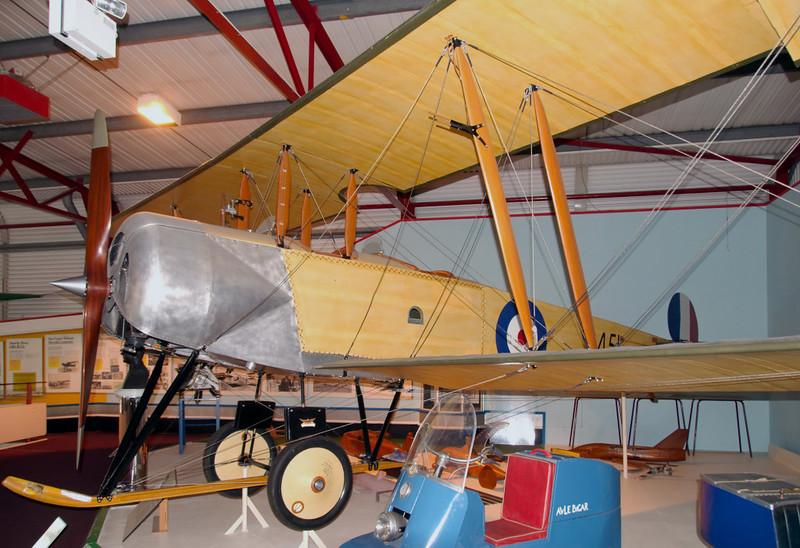 Replica of Avro 504J 'C4451', Solent Sky Museum, Southampton, 15 June 2008