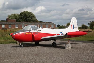ex-RAF Hunting Percival Jet Provost T.4, 8409M / XS209 - 04/08/18