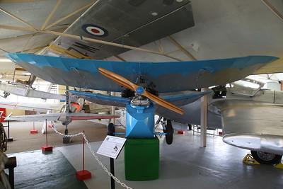 Mignet HM.14 Pou-du-Ciel (Flying Flea), G-ADRX - 04/08/18