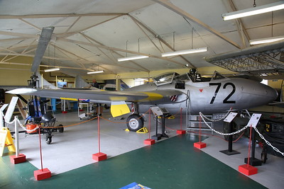 ex-RAF De Havilland DH.115 Vampire T.11, WZ515 - 04/08/18