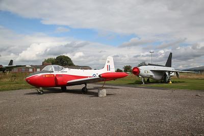 ex-RAF Hunting Percival Jet Provost T.4, 8409M / XS209 & ex-Saudi AF English Electric Lighting F.53, 53-681 / ZF583 - 04/08/18