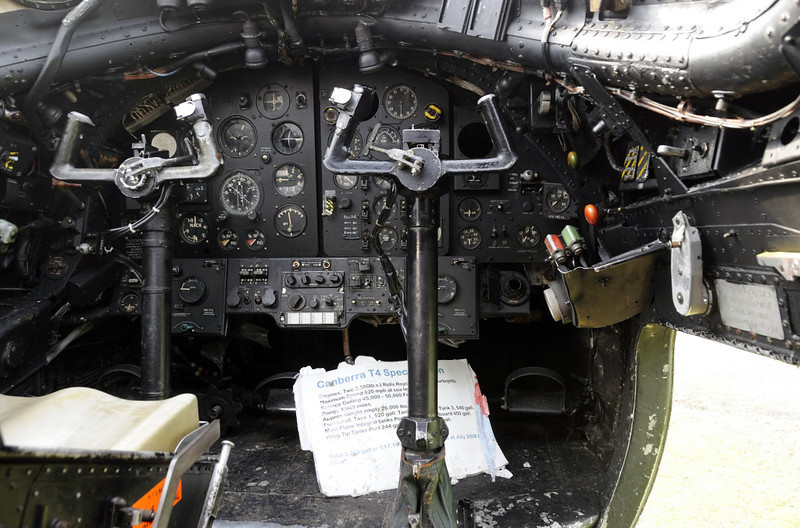 English Electric Canberra T4 WE188, Solway Aviation Museum, Carlisle airport, Sat 15 September 2012 2