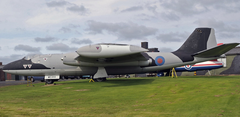English Electric Canberra T4 WE188, Solway Aviation Museum, Carlisle airport, Sat 15 September 2012 1