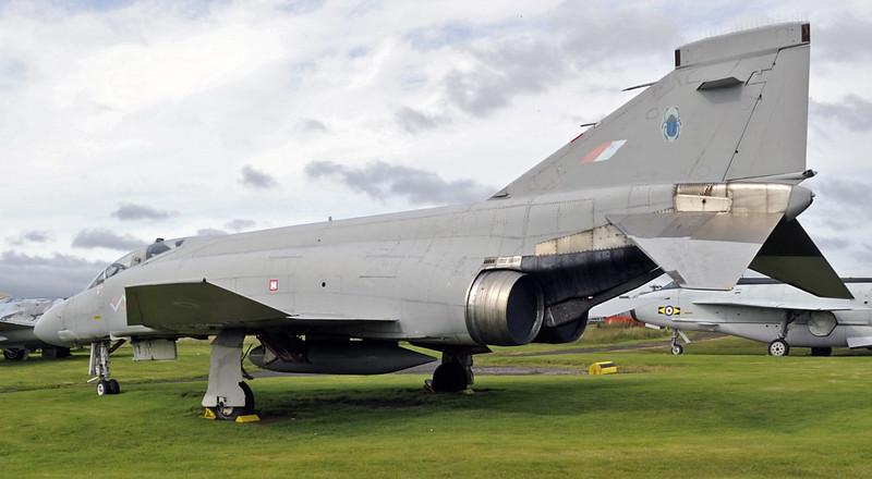 McDonnell Douglas Phantom FGR2 XV406, Solway Aviation Museum, Carlisle airport, Sat 15 September 2012 3