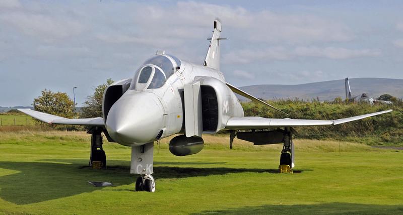 McDonnell Douglas Phantom FGR2 XV406, Solway Aviation Museum, Carlisle airport, Sat 15 September 2012 1