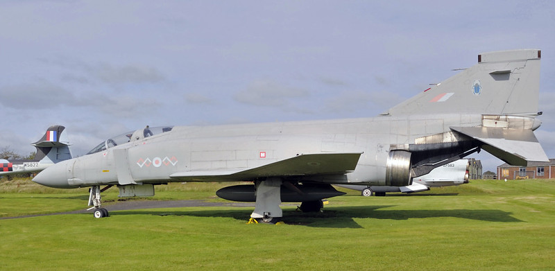 McDonnell Douglas Phantom FGR2 XV406, Solway Aviation Museum, Carlisle airport, Sat 15 September 2012 2