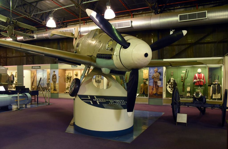 Messerschmitt Bf-109F-2 1+6, South African National Museum of Military History, Johannesburg, 20 September 2018 2.
