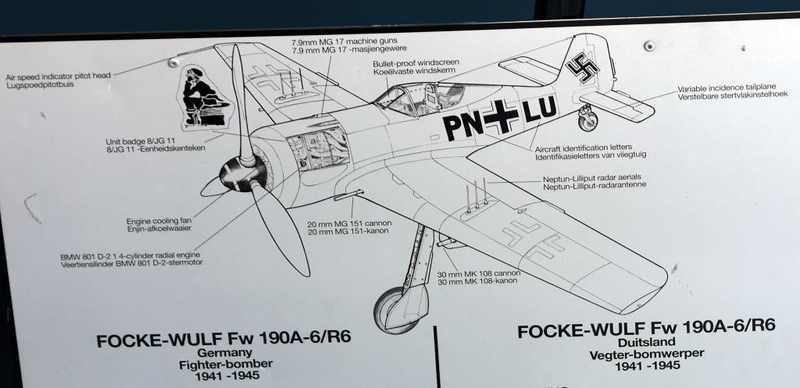 Focke-Wulf Fw-190A-6 PN+LU / 550214, South African National Museum of Military History, Johannesburg, 20 September 2018 5.