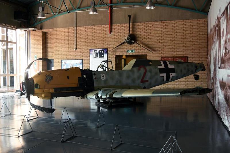 Messerschmitt Bf-109E-3 Red 2, South African National Museum of Military History, Johannesburg, 20 September 2018 2.