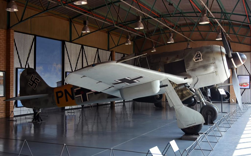 Focke-Wulf Fw-190A-6 PN+LU / 550214, South African National Museum of Military History, Johannesburg, 20 September 2018 2.