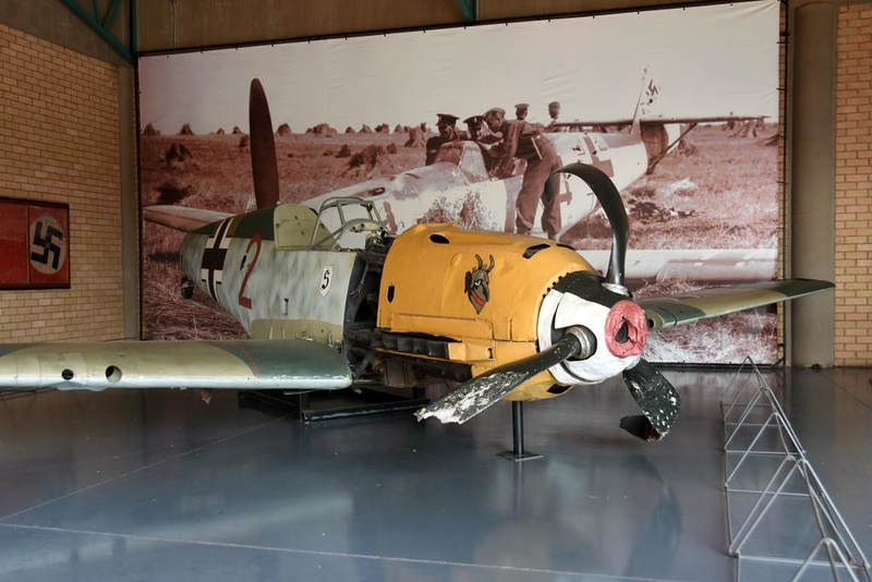 Messerschmitt Bf-109E-3 Red 2, South African National Museum of Military History, Johannesburg, 20 September 2018 1.
