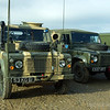 Military Land Rovers