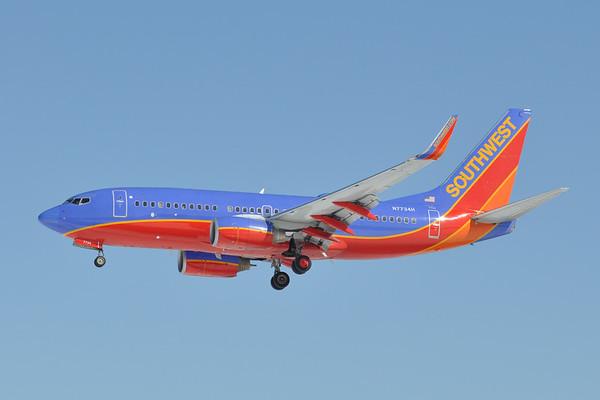 N7734H 2006 737-7BD c/n 33923  ex AirTran (N300AT)  2/17/15 BWI