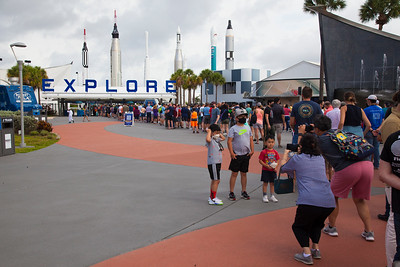 Getting ready for a great day at KSC!