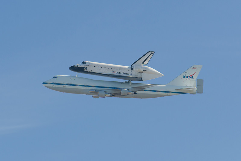 Endeavour Fly By, September 21, 2012