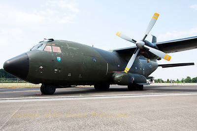"German Air Force Transall C-160D (51+12; cnD149), parked in the static at Nörvenich Air Base, during the spottersday, prior to the ""Tag der Bundeswehr""."