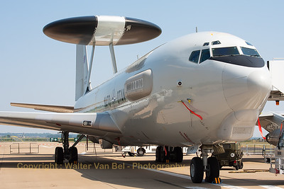"NATO E-3A Sentry (LX-N90453; cn 22848/964) on static display at Nörvenich Air Base, during the spottersday, prior to the ""Tag der Bundeswehr""."