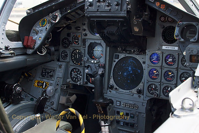 Front-cockpit view of a (preserved) German Air Force Tornado (45+60; cnGT053).