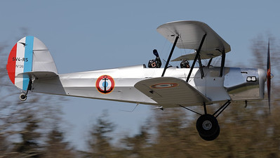 This Ultralight Concept SV4-RS (76ZN; cn26) made several nice fly-by's during the Ursel Avia Spottersday.  The Stampe SV4-RS is a light sports replica of the legendary Stampe-Vertongen SV4b from the 1930s.  Alternative Code/Name: F-JGUH