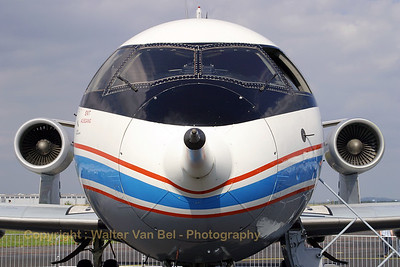 "A very special looking bird, this VFW-614 used by DLR for the ""ATTAS""-project. (Tag der Luft- und Raumfahrt 2007)."