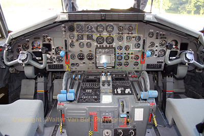 Cockpit view of the C-160D Transall from LTG62 (Tag der Luft- und Raumfahrt).