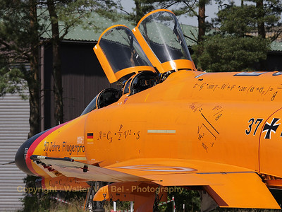 This beautiful Phantom (37+16, cn 4388) from WTD61 in its special c/s (50 Jahre Flugerprobung) was one of the highlights of the spottersday at Wittmundhafen (Spottersday for celebration of 50 years F-4 Phantom II).