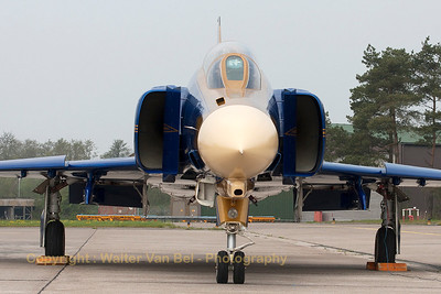 Face to face with JG71's celebration Phantom: 40 years F-4F Phantom II operations within the German Air Force.