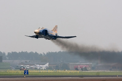 Smoky low-pass over the field.