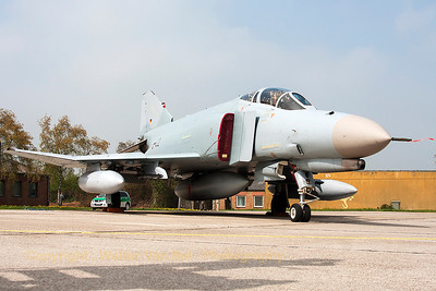 German Air Force F-4F Phantom II (37+22, cn4401) in her most recent c/s of the last decade. End of June 2013, it will be all over for the mighty German F-4F Phantom II...