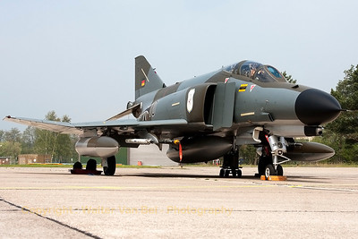 "German Air Force F-4F Phantom II (38+10, cn4635) in ""Norm 72"" retro c/s, celebrating the final months of F-4F operations."