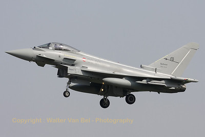 "Italian Air Force EF2000 Typhoon (MM7314, coded ""36-37""), visiting Cambrai-Epinoy for the fly-out ceremony of EC1/12."