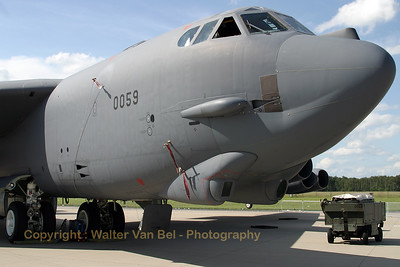 This old lady is still looking very good, although she has the typical wrinkles! The B-52H Stratofortress from the 96th BS at Barksdale in the static at Geilenkirchen.