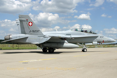 Twin-stick Hornet in the static at Geilenkirchen.