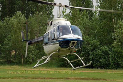 "Bell 206L-4 LongRanger IV (OO-KBT; cn45099): Open day at ""Berlaar-Kazerne"" (Belgian Defense's Logistics & Distribution Centre)."